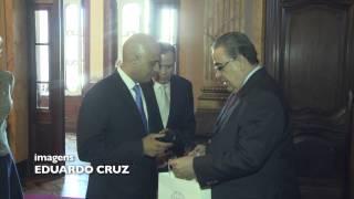 VÍDEO: Alberto Pinto Coelho recebe ministro inglês e comemora assinatura de acordo para as Paralimpíadas