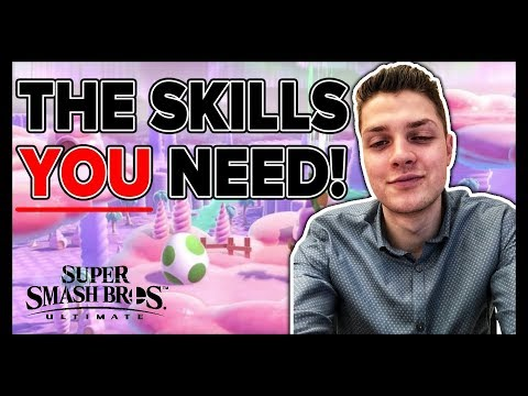 Essential Skills To Master In Super Smash Bros. Ultimate - THE BASICS!