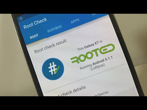 How To Root Samsung Galaxy E7 Running Android 5.1.1 (Lollipop) No Computer Needed