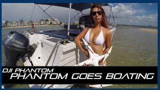 Tips on Boating with the DJI Phantom 2 & some Bikini Action! (Tip #3)