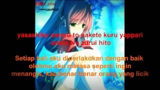 Yui-Namidairo lirik indonesia~