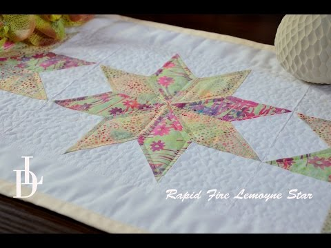 patchwork - blocco lemoyne star