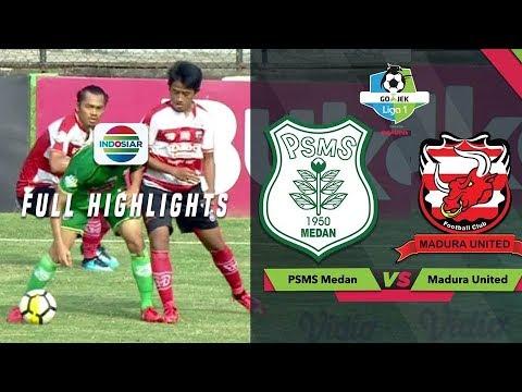 PSMS Medan - Мадура Юнайтед 3:3. Видеообзор матча 17.11.2018. Видео голов и опасных моментов игры