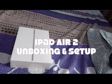 Ipad Air 2 128gb WiFi + Cellular Unboxing & Setup