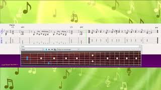 Smoke On The Water (Ноты и Видеоурок для гитары) (guitar cover)