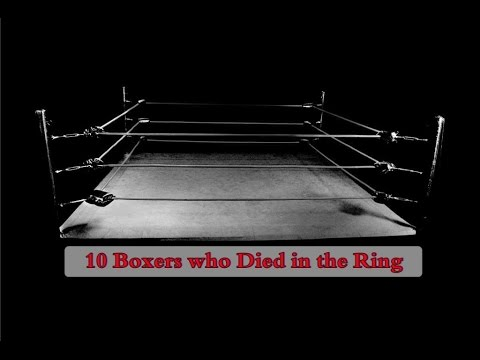 10 Boxers Who Have Died In The Ring
