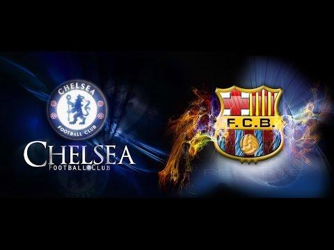 Chelsea - Barcelona  full match  28 07 2015 Russian commentators HD