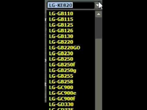 comment debloquer lg kg275