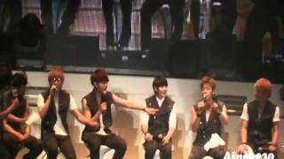 11/07/09 Beast 1st Fan Meeting In Thailand Interview Part 2