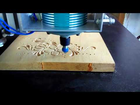 Kayumaker CNC Routing Rubberwood