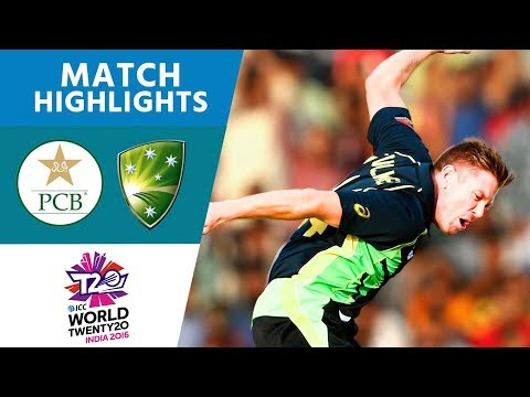 Pakistan Knocked Out by Faulkner & Smith | Pakistan vs Australia | ICC Men's #WT20 2016 - Highlights