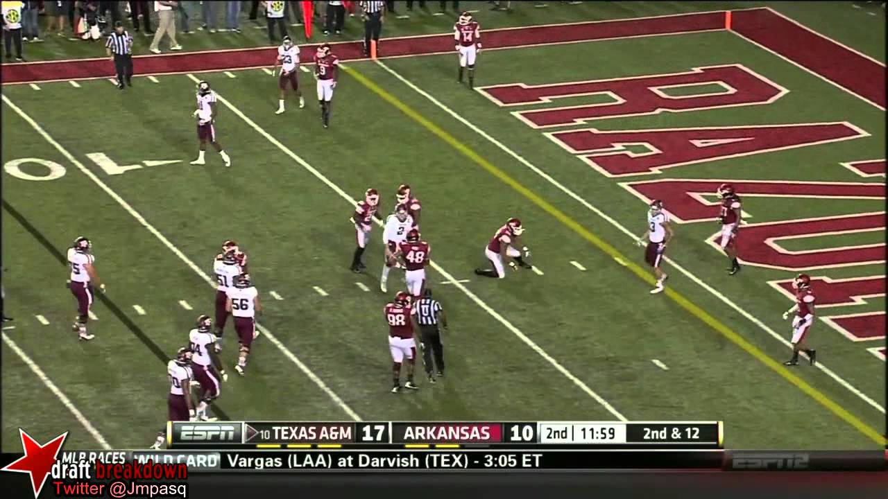 Mike Evans vs Arkansas (2013)