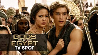 "Gods of Egypt (2016 Movie - Gerard Butler) Official TV Spot – ""Keep Up"""