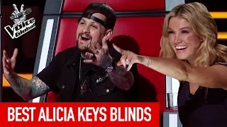 Video The Voice Kids | BEST 'ALICIA KEYS' Blind Auditions MP3, 3GP, MP4, WEBM, AVI, FLV Mei 2019