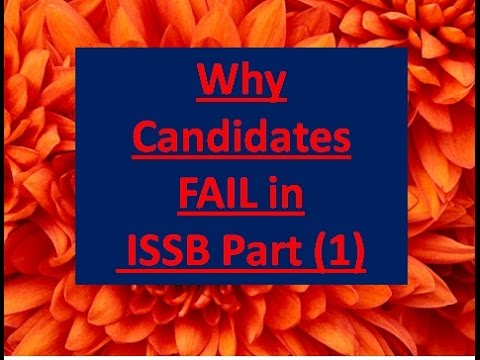 Why Candidates Fail in ISSB with Audio by Lt Colonel (R) Arif