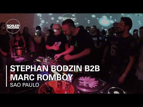 Stephan Bodzin Vs.Marc Romboy Skol Beats x Boiler Room São P