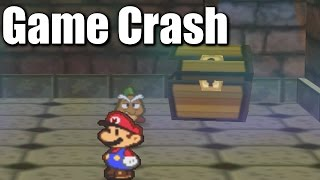 """The number of known game crashes in Paper Mario has steadily increased over the past few years. Some are more technical than others, but glitches involving treasure chests aren't all too difficult. The softlock is rather precise, but the game crashes simply require a sequence-breaking exploit. This includes but is certainly not limited to Early Train, Bow Skip, Blue House Skip, or Whale Early.It's not very clear who truly discovered the game crash glitches first, but I know for a fact r0bd0g and Bonecrusher were among those testing every square inch of the game at the time. The first softlock showcased at the beginning was found by 360Chrism, and the second was found by me. As for the floating partner glitch we've had trouble replicating, again, it's unknown who found it first, but maker2143 has the oldest known video footage.I also mention some future projects, which have kept me busy lately. Big stuff is on the way, hopefully I can find the motivation to tackle them. I absolutely love making these videos, but some parts of the recording process for longer videos can become quite tedious. Anyway, enjoy this shorter video in the meantime! • """"Life's a Glitch"""" Stryder7x Shirts: https://www.redbubble.com/people/stryder7x/works/23688984-lifes-a-glitch-stryder7x-anti-guy?p=t-shirt• """"Glitches Get Bitches"""" Stryder7x Shirts: http://www.redbubble.com/people/stryder7x/works/23689191-glitches-get-bitches-stryder7x-anti-guy?p=t-shirtIf you'd like to stay updated, check out my Facebook, Twitter & Twitch:• Facebook: https://www.facebook.com/Stryder7x• Twitter: https://twitter.com/Stryder7x• Twitch: https://twitch.tv/Stryder7xFootage from TheGenkiMistress:• Paper Mario Glitch: https://www.youtube.com/watch?v=_TVE7SXhlh4T-Shirt, video intro, and video outro designed and animated by TheSneakySpy:• YouTube: https://www.youtube.com/user/TheSneakySpyOther Glitch Hunters Involved with this Video:• r0bd0g: https://twitter.com/the_r0bd0g• Bonecrusher: https://twitter.com/Bonecrusher102236"""