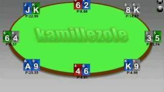 Poker simulator YouTube video