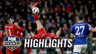 Bayern Munich vs. FC Schalke 04   2019 Bundesliga Highlights