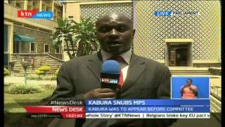 NewsDesk: Infamous Kaburu Fails To Face House Parliamentary Committee On NYS Scandal, 25/10/16