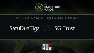 Signature vs SatuDuaTiga, game 2