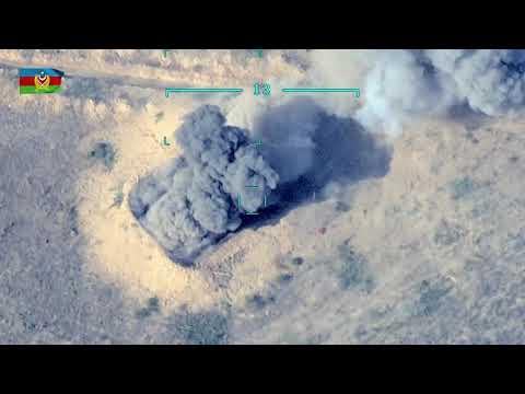 Высокоточная война. Дроны уничтожают танки, РСЗО и пушки в Нагорном Карабахе