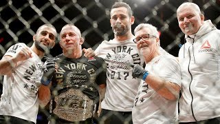 Georges St-Pierre Vacates UFC Middleweight Title, Robert Whittaker Becomes Champ