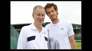 "In this week's news, Andy Murray responds to John McEnroe ranking him ""a distant fourth"" among the Big Four, McEnroe reveals how a rock star saved his sanity and Maria Sharapova hits the race track."