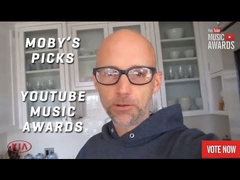 Moby's Music Picks - YouTube Music Awards