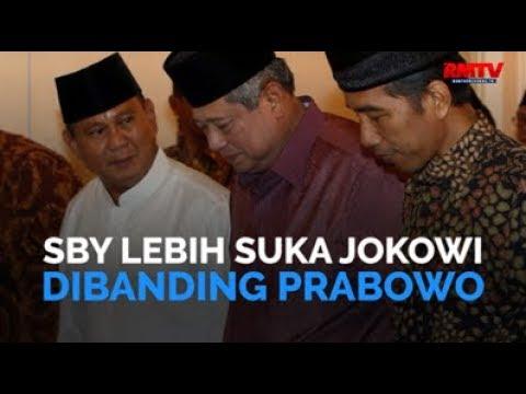 SBY Lebih Suka Jokowi Dibanding Prabowo