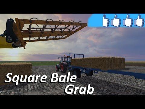 Square Bale Grab