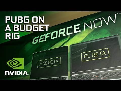 GeForce NOW Allows High-End Games on Budget Rigs! - CES 2018 (видео)
