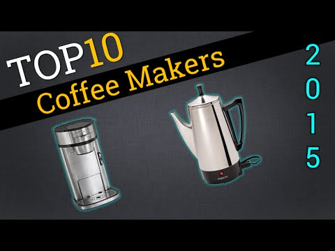 Top 10 Coffee Makers 2015 | Best Coffee Maker Review