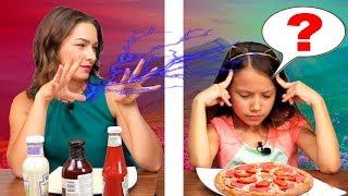 ТЕЛЕПАТИЯ Пицца Челлендж УГАДАЙ Если Сможешь Twin Telepathy Pizza Challenge /// Вики Шоу