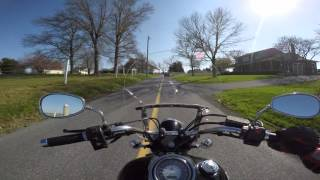 5. 2007 Yamaha V star 1100 Test Drive Review