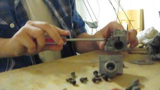5. 1982 Suzuki Jr50 Carburetor cleaning Pt2