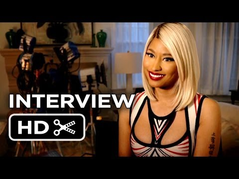 The Other Woman Interview - Nicki Minaj (2014) - Cameron Diaz Comedy HD