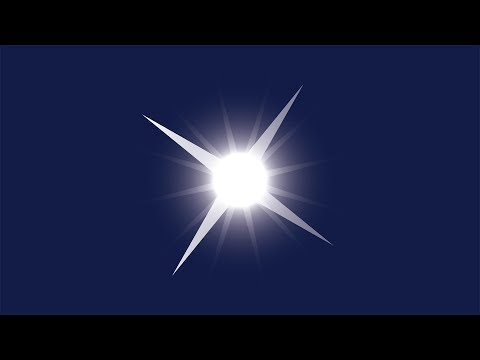 How To Draw A Sparkling Star In Adobe Illustrator