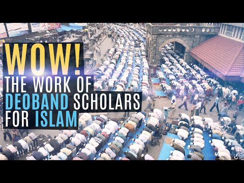 deoband - This is a short account of the work the Ulama of Darul uloom Deoband have done for Islam. The lecture is by Maulana Abdul Karim Nadeem and it has been subtit...