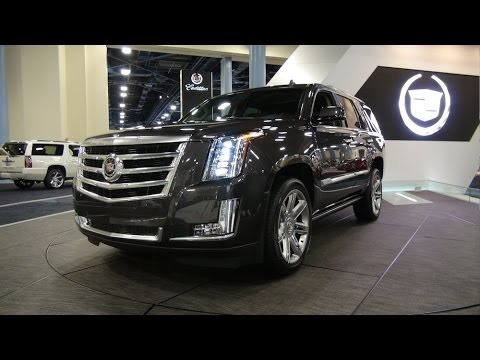 Watch the 2015 Cadillac Escalade debut again at the Miami International Auto Show