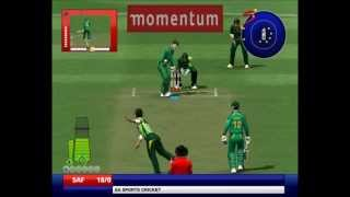 Shahid Afridi To Graeme Smith - EA Sports Cricket 2013 Ramiz Raja Commentary Patch A2 Studios