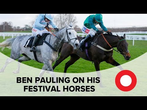Ben Pauling on his Festival chances