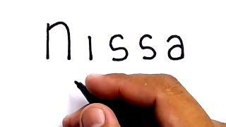 Video SYANTIK, cara menggambar kata NISSA menjadi gambar nissa sabyan group musik gambus religli islam MP3, 3GP, MP4, WEBM, AVI, FLV Juni 2018