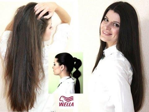Как сделать волосы блестящими и гладкими дома