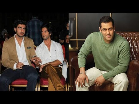 Arjun Reacts On Shahid's Comment On His Diet | Sal