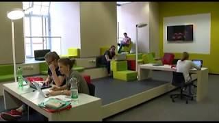 Neues Learning Center der Unibibliothek Mannheim