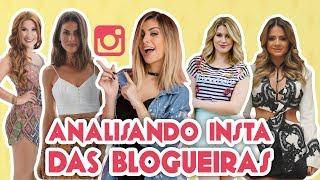 ANALISANDO O FEED DAS BLOGUEIRAS ft FOQUINHA | Maicon Santini