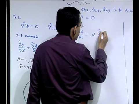 Mod-01 Lec-05 Klassifizierung von Partielle Differentialgleichungen und Physical Behaviour