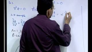 Mod-01 Lec-05 Classification Of Partial Differential Equations And Physical Behaviour