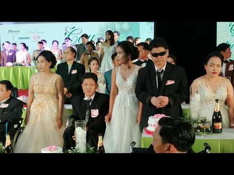 0 NSND Kim Cương tổ chức lễ cưới cho 40 cặp đôi khuyết tật
